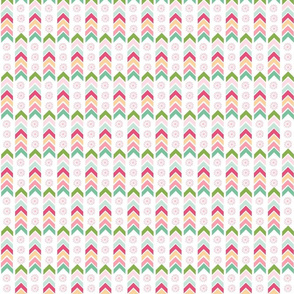 Aztec Totem - SMALL pink