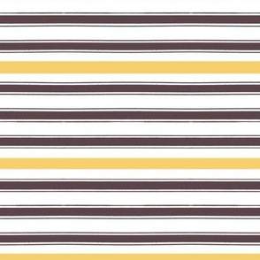 PillowTicking with autumn stripe