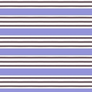 French Ticking Lavender Stripe