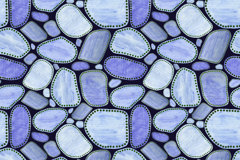 Waterholes #1 fabric by bunyipdesigns on Spoonflower - custom fabric
