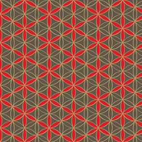 Flower_of_Life_Honey cell_hexagon _cube_pattern2