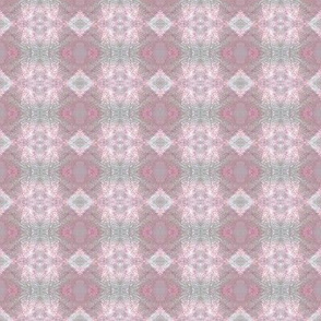 Earth Plaid (Pink & Gray)