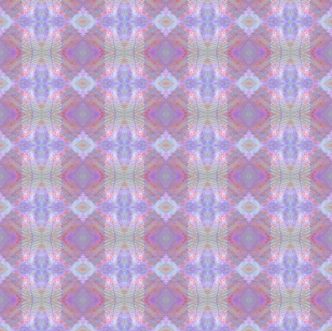 Earth Plaid (Violet & Red) fabric by belovedsycamore on Spoonflower - custom fabric