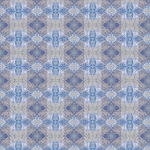 Earth Plaid (Pale Denim)