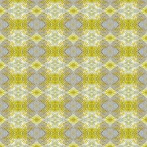 Earth Plaid (Yellow & Gray)