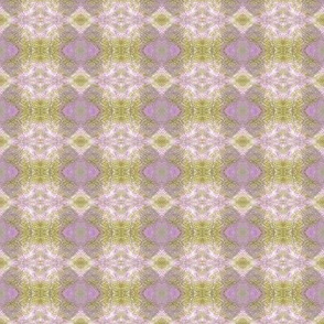 Earth Plaid (Purple & Yellow)