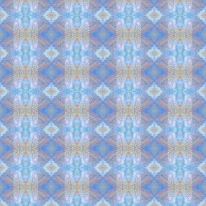 Earth Plaid (Blue)