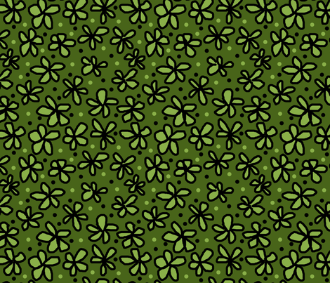 ltd_floral_1_copy fabric by leroyj on Spoonflower - custom fabric
