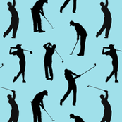 Golfers // Teal