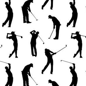 Golfers // Small