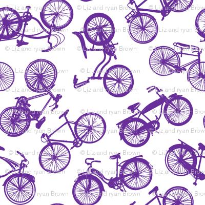 Vintage Bicycles // Violet