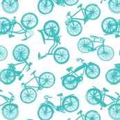 Vintage Bicycles // Teal