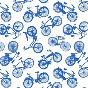 Vintage Bicycles // Dark Blue
