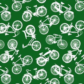Vintage Bicycles // Dark Green