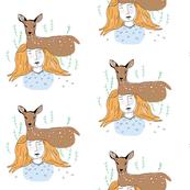 Woodland Deer Nursery Animals // Fawn