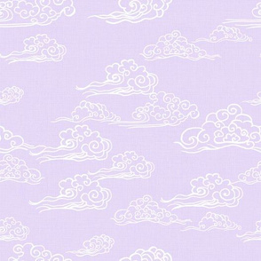 Cloud Streaked Skies in Lilac