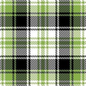 06015367 : tartan : sewing green