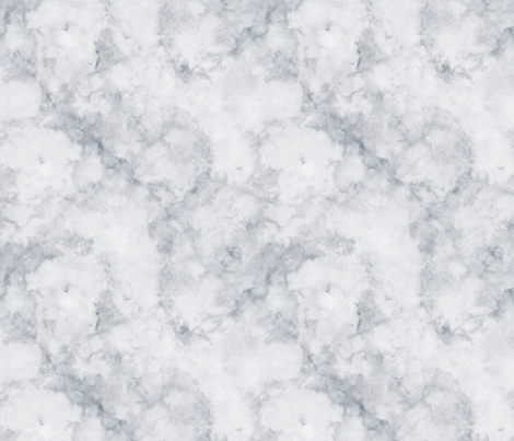 Silver Grey Marble Seamless Larger Fabric By Thistleandfox On Spoonflower