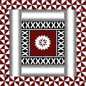 Fijian Masi Square