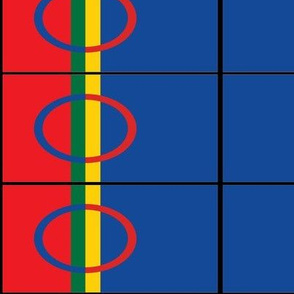 SAMI peoples flag