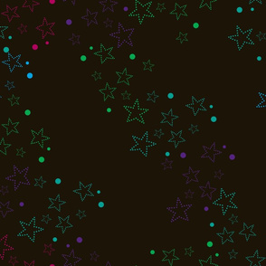 Northern Lights Starry Sky