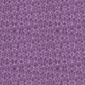 Millennial Calico in Purple and Fuchsia