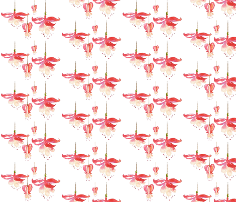 bleeding_hearts fabric by elliemacdesigns on Spoonflower - custom fabric