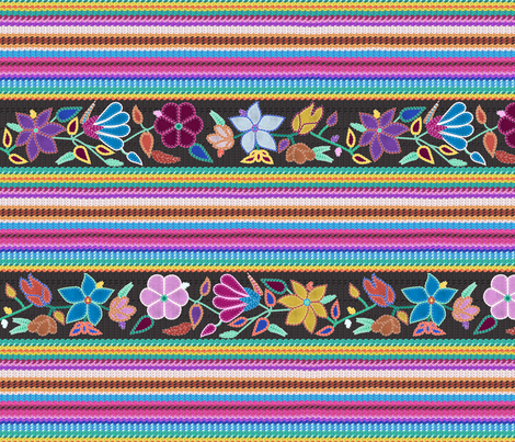 Peruvian Blanket fabric by vannina on Spoonflower - custom fabric