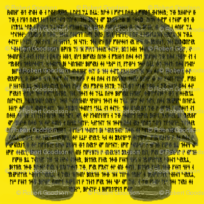 Runes and Ravens in yellow
