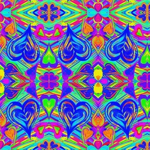 Loving the Flowing Colour - Medium Scale