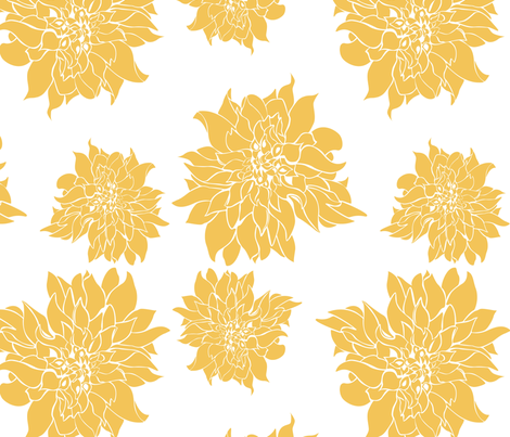 Villa Gold fabric by arboreal on Spoonflower - custom fabric