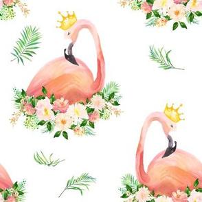 Floral Flamingo / Free Falling
