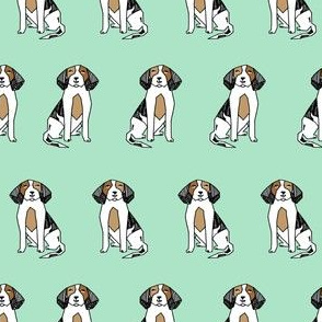 beagles // beagle mint dog fabric dogs design andrea lauren