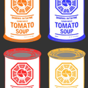 Dharma Soup Cans