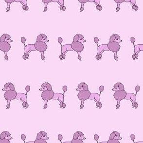 poodles // purple pastel poodle fabric cute pastel fairy kei fabric