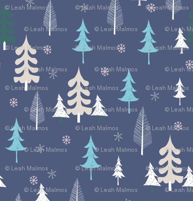 christmas_town_trees