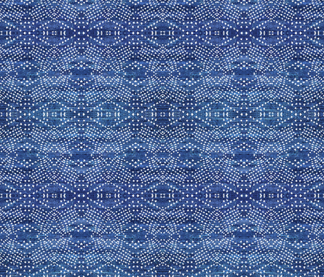 DENIM_LIGHT_BOHO_INDIGO fabric by holli_zollinger on Spoonflower - custom fabric