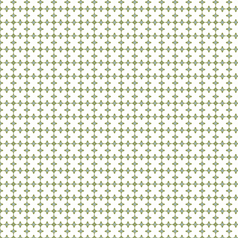 White Clover by Friztin fabric by friztin on Spoonflower - custom fabric