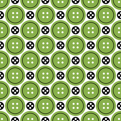 R4X button + popper : green fabric by sef on Spoonflower - custom fabric