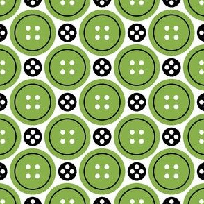 R4X button + popper : green