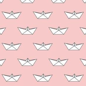 paper boat || rose quartz