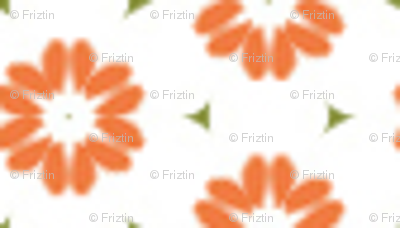 Red Verbena by Friztin