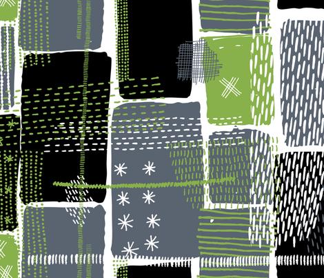 Boro by Friztin fabric by friztin on Spoonflower - custom fabric