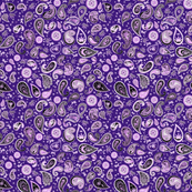 420 Hiphop Paisley Purple