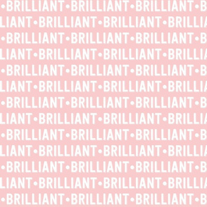 Brilliant Text | Provincial Pink