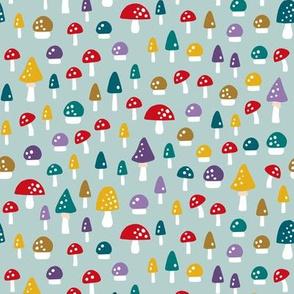 Gnome mushroom fungi light