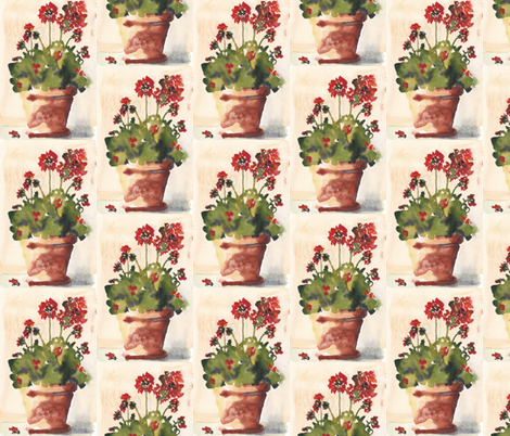 Kitchen Window fabric by wildflowerfabrics on Spoonflower - custom fabric