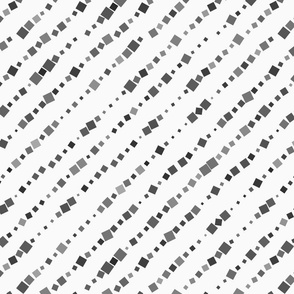 Textured with random squares diagonal lines