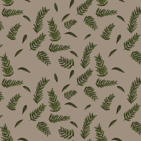House Plant fabric by denysemitterhofer on Spoonflower - custom fabric