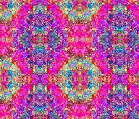 HOLI HINDU FESTIVAL OF COLORS GEOMETRIC GOA BEACHES MUSIC fabric by paysmage on Spoonflower - custom fabric